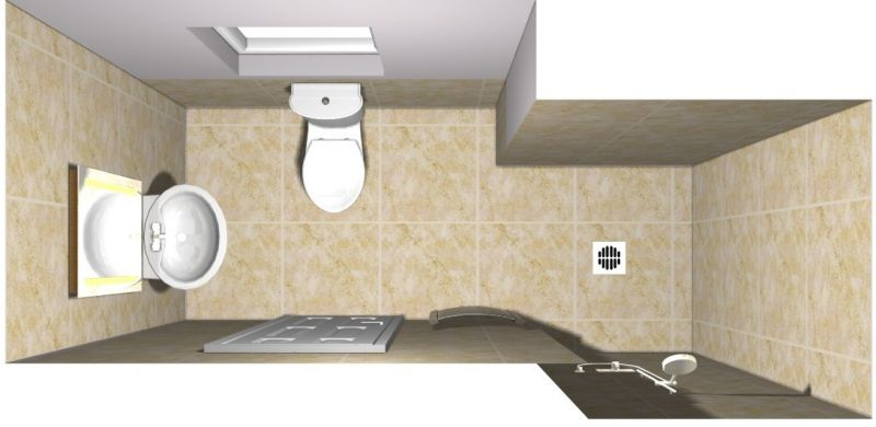 Wetroom Design Idea
